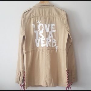 Other - Peace ☮️ World 🌍 Love ❤️ utility jacket